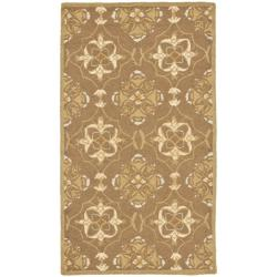 Safavieh Hand-hooked Chelsea Harmony Brown Wool Rug - 1'8 x 2'6 - Thumbnail 0