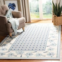 "Safavieh Hand-hooked Chelsea Resorts Blue Wool Rug - 2'9"" x 4'9"""
