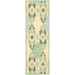 Safavieh Hand-hooked Chelsea Sonet Multicolor Wool Runner (2'6 x 6')