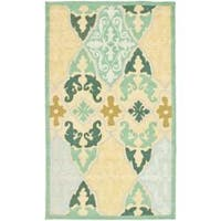 Safavieh Hand-hooked Chelsea Sonet Multicolor Wool Rug - 2'9' x 4'9'