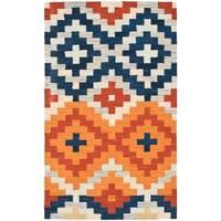 "Safavieh Hand-hooked Chelsea Southwest Multicolor Wool Rug - 1'-8"" x 2'-6"""
