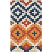 Safavieh Hand-hooked Chelsea Southwest Multicolor Wool Rug (2'9 x 4'9) - 2'9 x 4'9