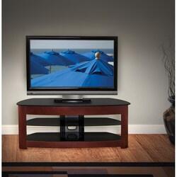 Avista Milano Rich Espresso TV Stand with Foldtech System
