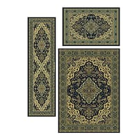 Admire Home Living Caroline Medallion Rugs (Set of 3)