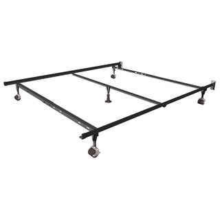 Rize Queen Size Bed Frame With Rollers and Glide