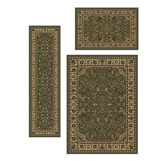 Admire Home Living Caroline Sarouk Rugs (Set of 3)