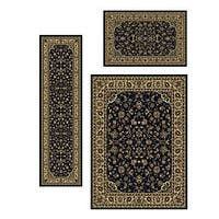 Admire Home Living Caroline Sarouk Traditional Rugs (Set of 3)