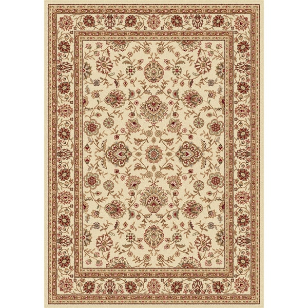 Alise Ivory Traditional Area Rug (5'x 7')