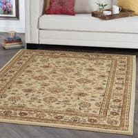 Alise Ivory Traditional Area Rug - 5' x 7'