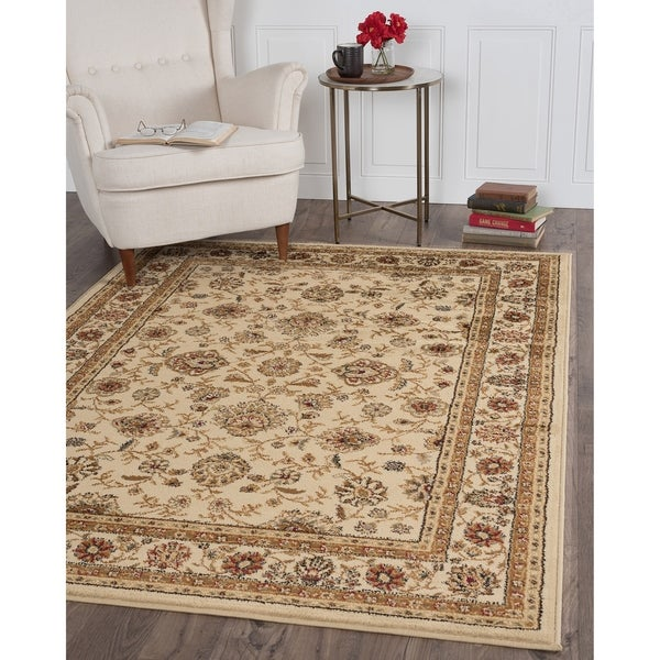 Alise Ivory Traditional Area Rug (7'6 x 9'10) - 7'6 x 9'10