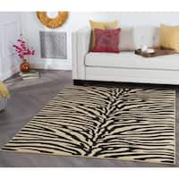 Alise Multi Collection Ivory Area Rug - 7'6 x 9'10