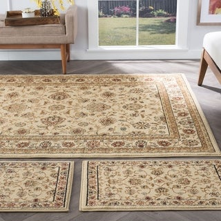 Alise Multi Collection Set of 3 Area Rugs (1'8x2'8, 1'8x5', 5'x7')