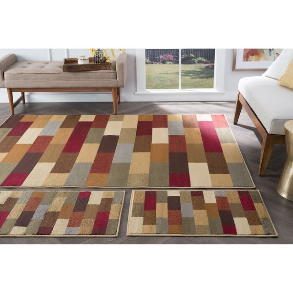 Alise Multi Collection Set Of 3 Area Rugs 1 X27 8 X 5