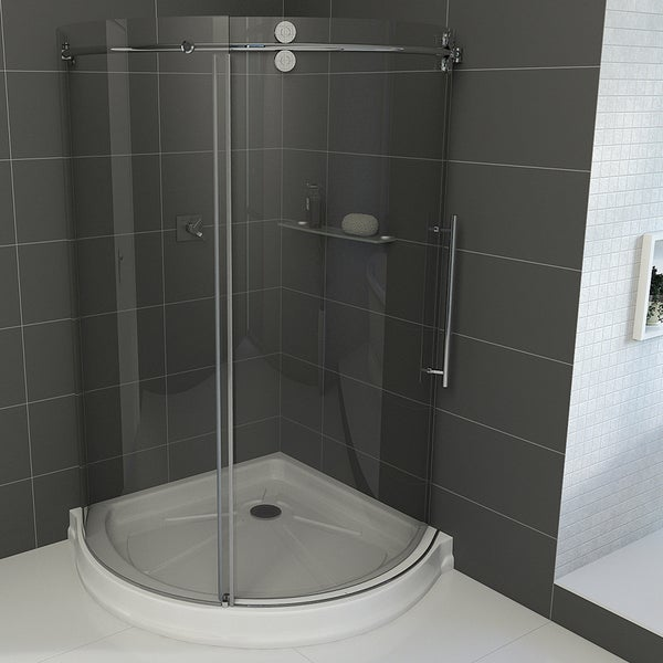 Vigo 36 X 36 Frameless Round 5 16 Quot Clear Shower Enclosure