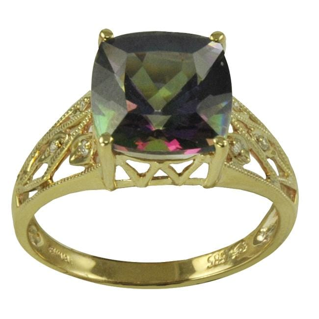 oval gemologica mytsic rings jewelry diamond gemstone c fine a from rose gold ring store mystic topaz online