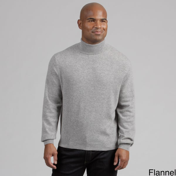 Oliver & James Men's Cashmere Turtleneck Sweater