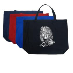 Los Angeles Pop Art 'Marilyn' Large Cotton Shopping Tote