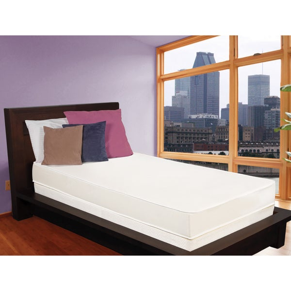 Select Luxury Flippable Comfort 6-inch Medium Firm Twin-size Foam Mattress