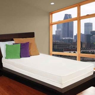 Flippable Comfort 4-inch Twin-size Foam Mattress