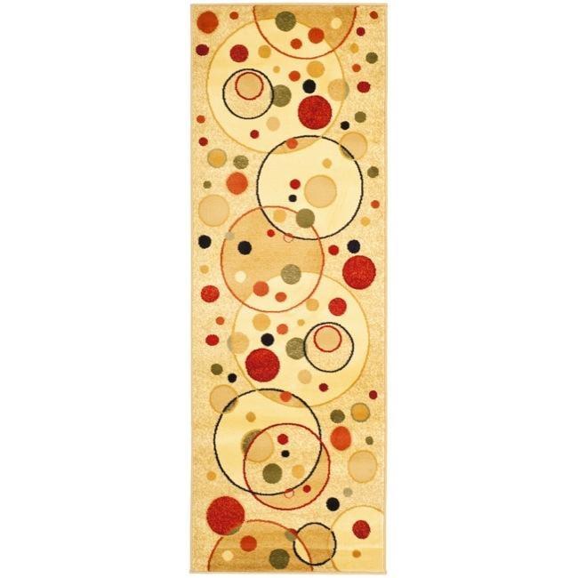 Safavieh Fine-spun Porcello Ivory/ Multicolored Runner (2'4 x 6'7)