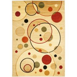 Safavieh Fine-spun Porcello Ivory/ Multicolored Rug (4' x 5'7)