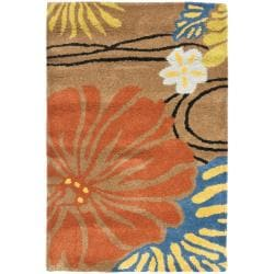 Safavieh Handmade Soho Brown New Zealand Wool Rug (2' x 3')