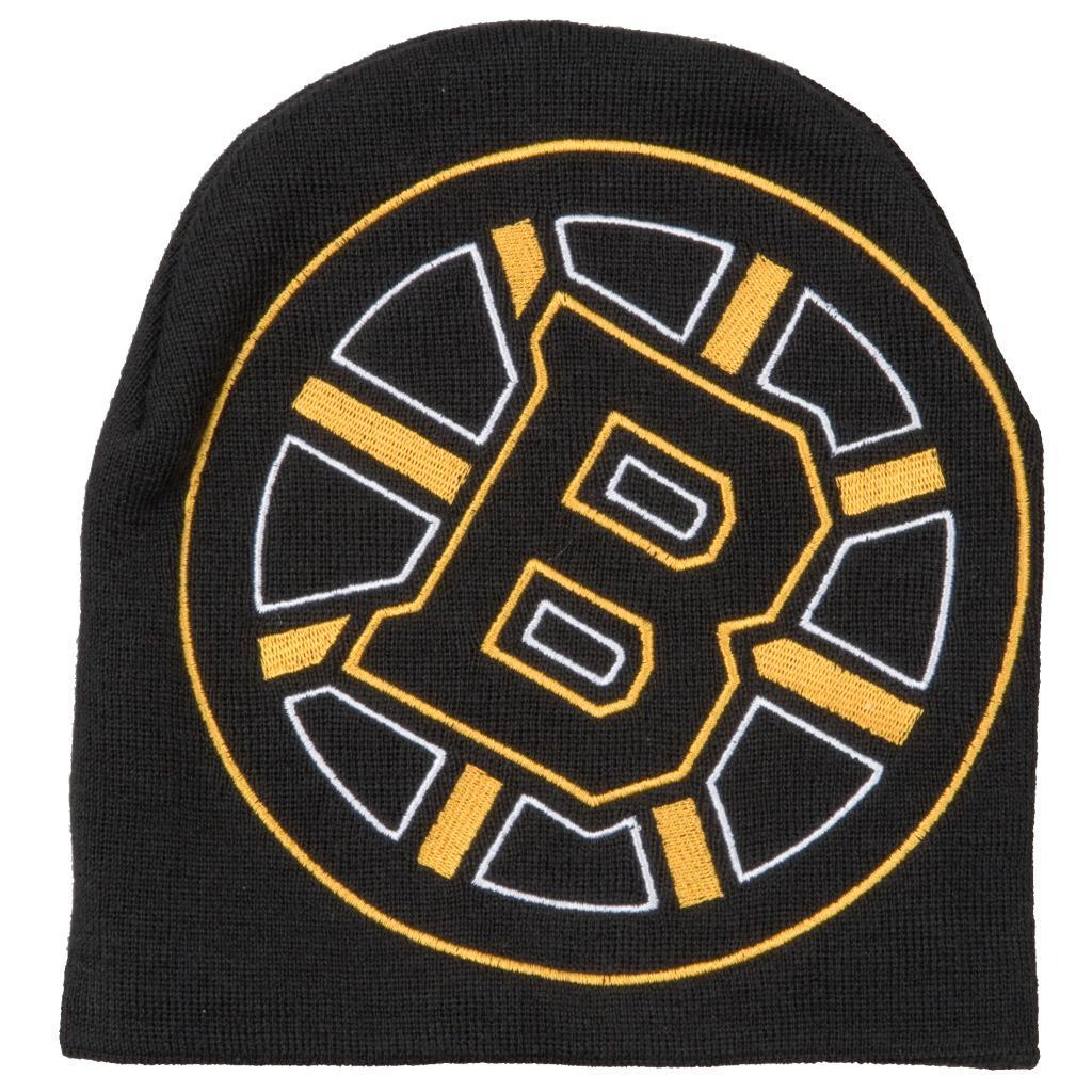 Boston Bruins Big Logo Stocking Hat