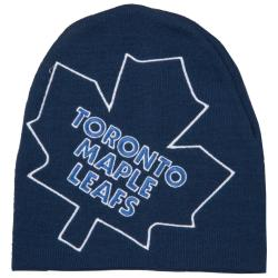 Toronto Maple Leafs Big Logo Stocking Hat - Thumbnail 2