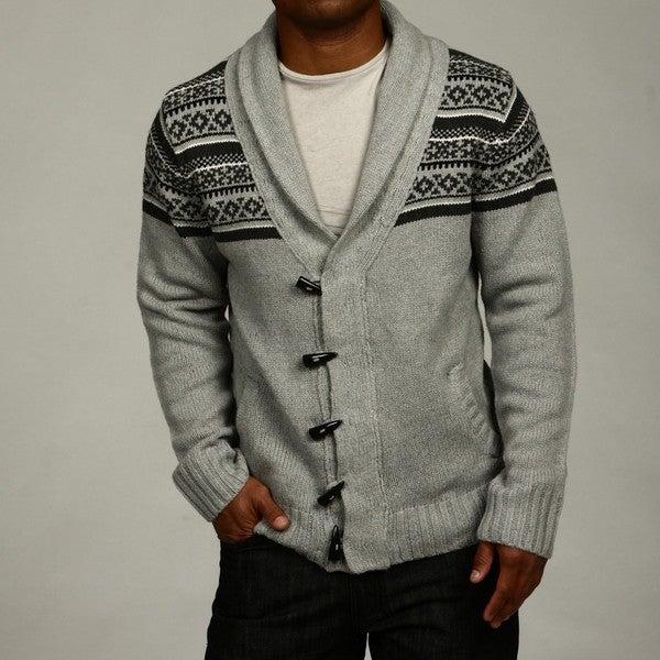 Brave Soul Men's Shawl Collar Cardigan Sweater