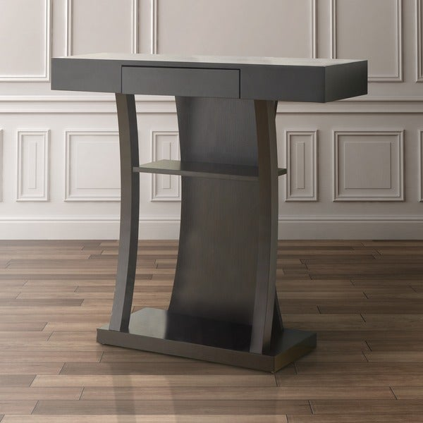 Furniture of America Piermont Red Cocoa Occasional Table