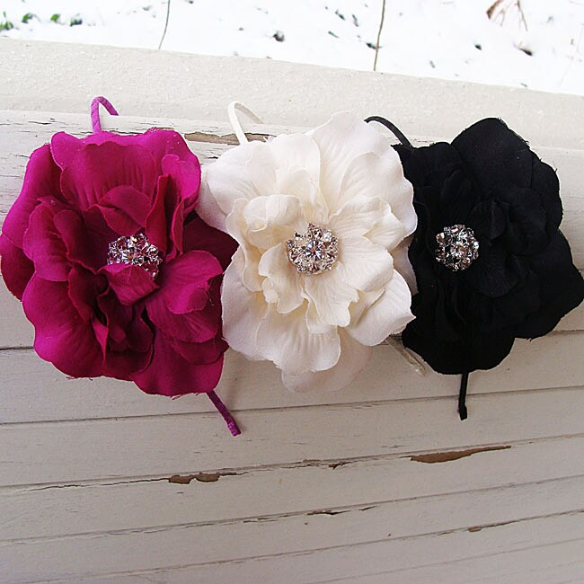 CarolineAlexander 5-inch Flower Headband