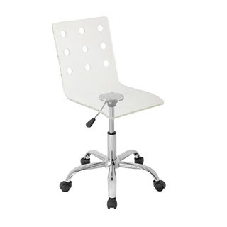 LumiSource Swiss Clear Acrylic Task Chair