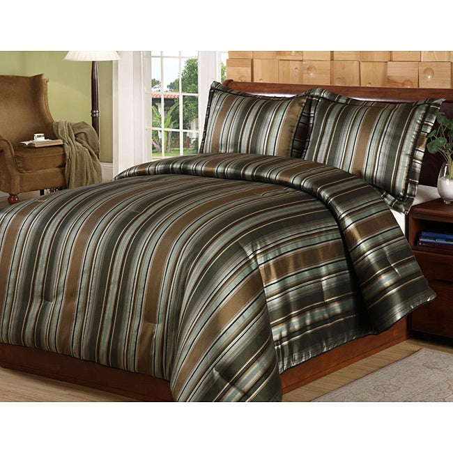 Huntington 3-piece Duvet Cover Set