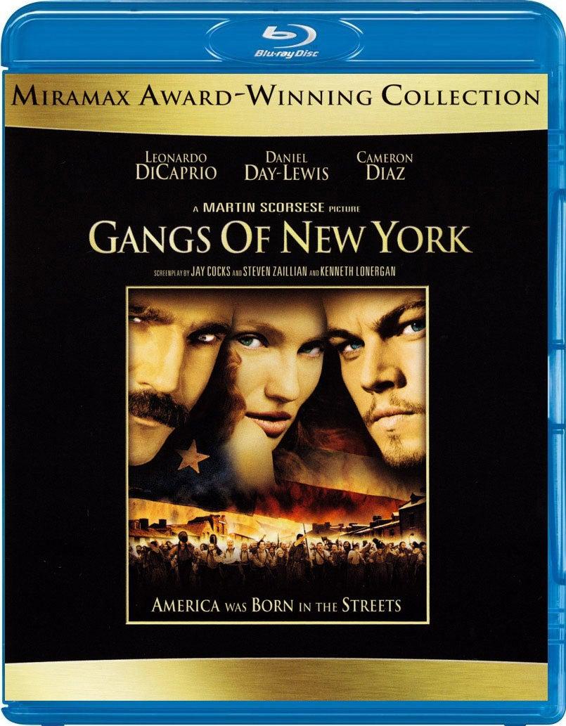 Gangs of New York (Blu-ray Disc)