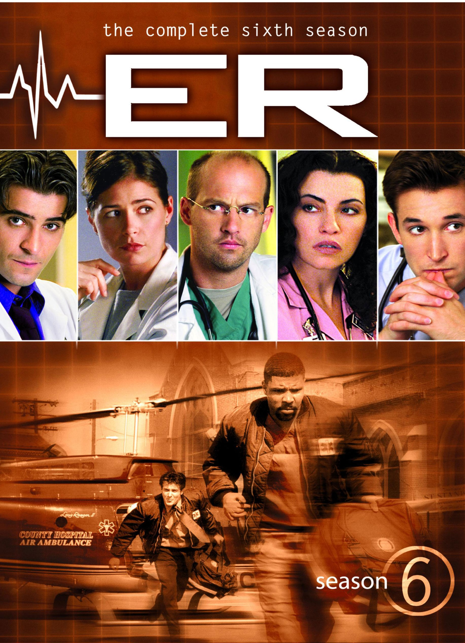 ER - The Complete Sixth Season (DVD)