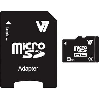 V7 VAMSDH8GCL4R-1N 8 GB microSDHC