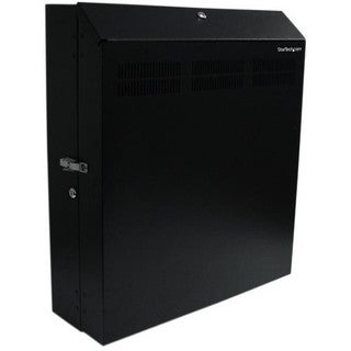 StarTech.com Wall-Mount Server Rack with Dual Fans and Lock - Vertica
