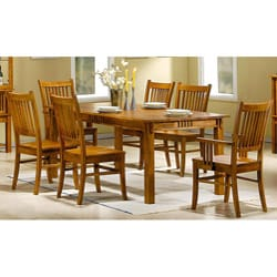 Angelica 7-piece Mission Country Style Dining Set