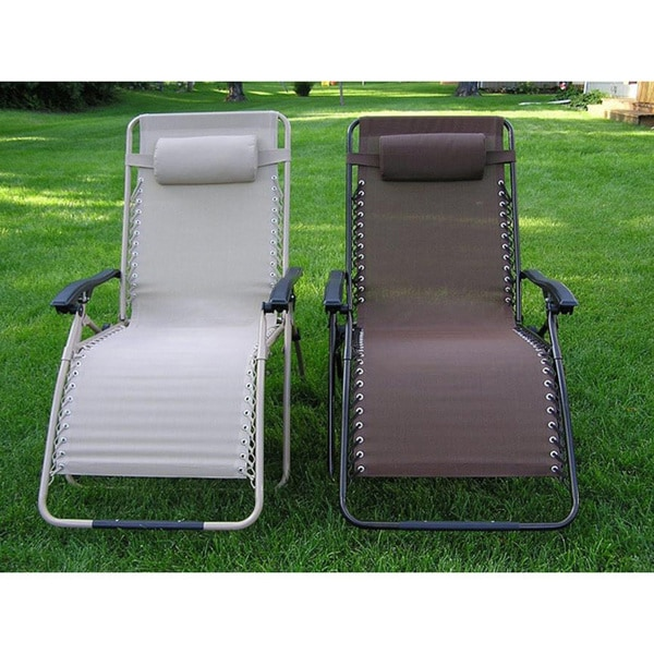 Shop Zero Gravity Extra Wide Recliner Lounge Chair Free