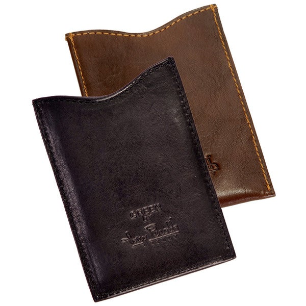 Tony Perotti Men's Italian Cow Leather Slim Magnetic Money Clip Wallet