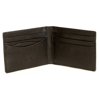 Tony Perotti Men's Italian Cow Leather Front Pocket Bifold Credit Card Wallet