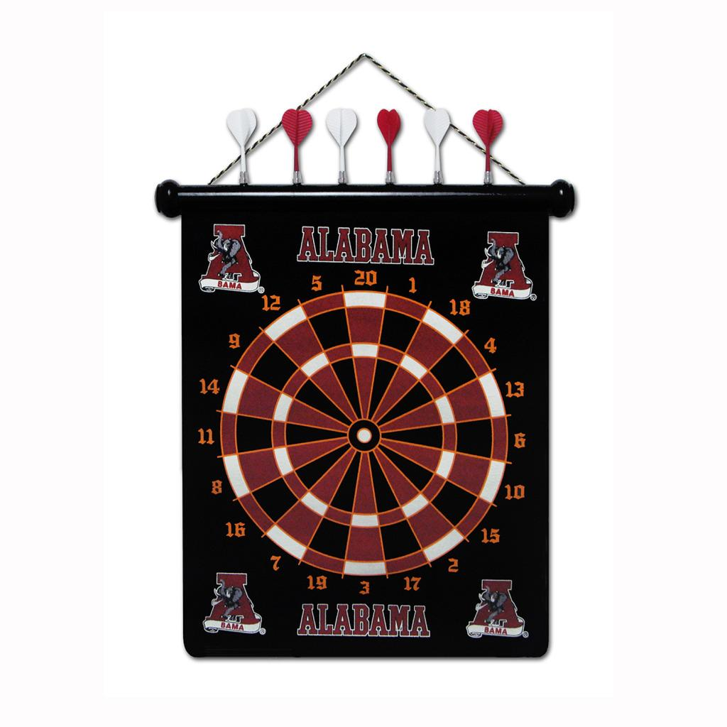 Alabama Crimson Tide Magnetic Dart Board