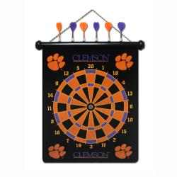 Clemson Tigers Magnetic Dart Board