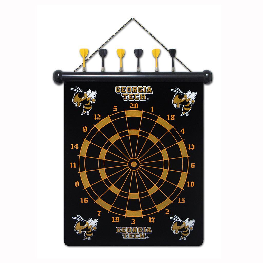 Georgia Tech Yellow Jackets Magnetic Dart Board