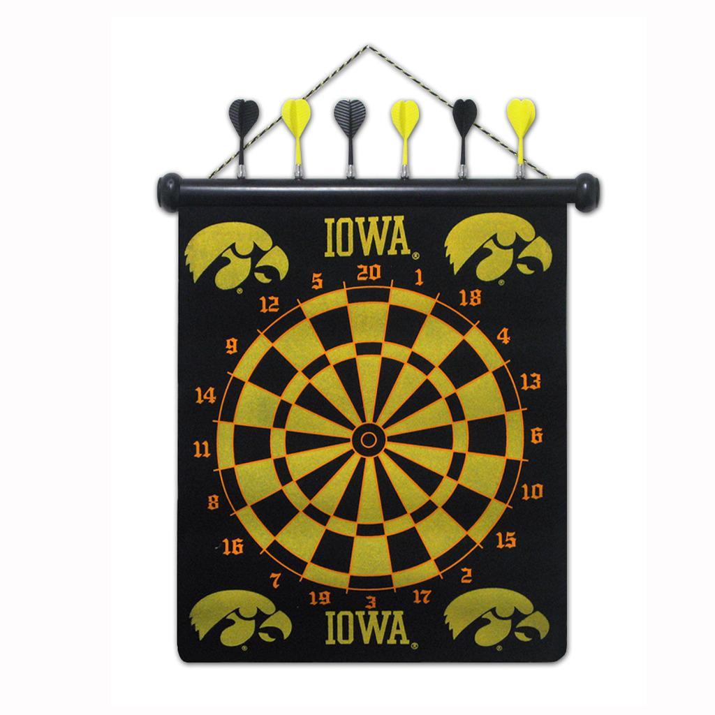 Iowa Hawkeyes Magnetic Dart Board