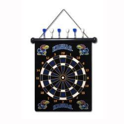 Kansas Jayhawks Magnetic Dart Board - Thumbnail 1