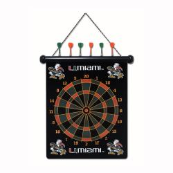 Miami Hurricanes Magnetic Dart Board - Thumbnail 2