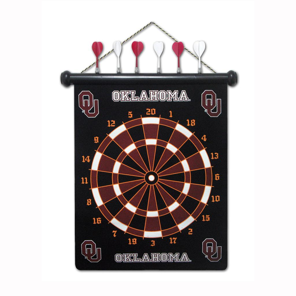 Oklahoma Sooners Magnetic Dart Board
