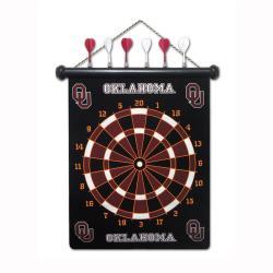 Oklahoma Sooners Magnetic Dart Board - Thumbnail 1