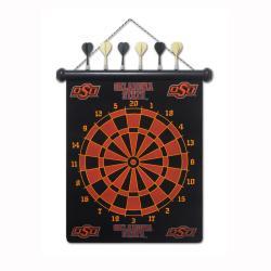 Oklahoma State Cowboys Magnetic Dart Board - Thumbnail 1